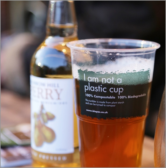 Not a plastice cup